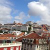 Looking over Lisbon, Portugal.