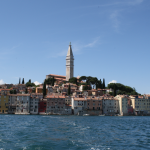 View of Rovinj from the water